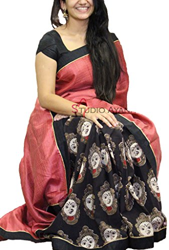 Premium Choice Women's Cotton Silk Saree With Blouse Piece (Bpuri58_Multicolor)