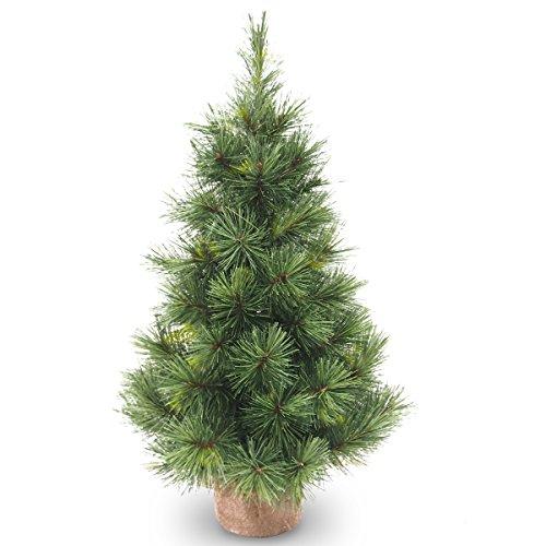 Künstlicher Tannenbaum LUXEMBURG, 65 Zweige, 60 cm, Ø 35 cm - Kunst Weihnachtsbaum / Deko Christbaum - artplants