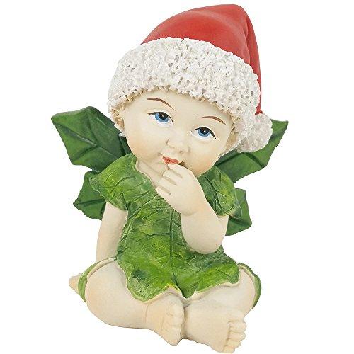 Figura de bebé en miniatura de resina para decoración de terrario o jardín de hadas, figura decorativa para mesas o estantes, resina, Fairy Baby B