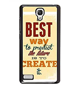 Fuson Designer Back Case Cover for Xiaomi Redmi Note :: Xiaomi Redmi Note 4G :: Xiaomi Redmi Note Prime (Destiny Fate fortune Predict Success)