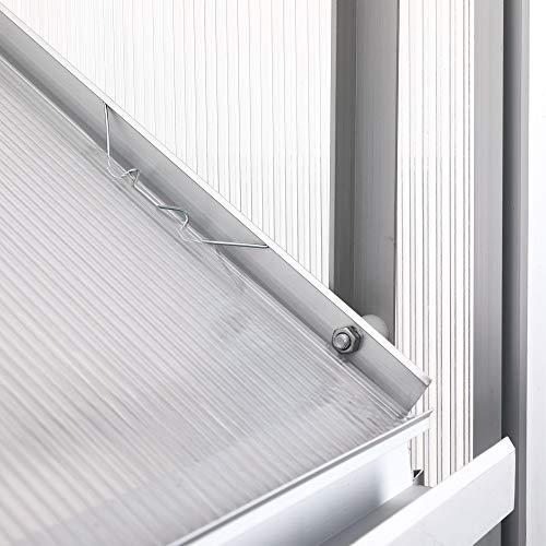 Zelsius – Aluminium Treibhaus - 9