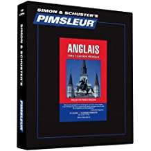 Pimsleur English for French Speakers Level 1 CD: Learn to Speak and Understand English for French with Pimsleur Language Programs (Comprehensive)