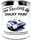 Ann Sterling Kreidefarbe Shabby Chic Farbe: Chalky White/Weiß 1Kg. / 750ml. Lack Chalky Paint