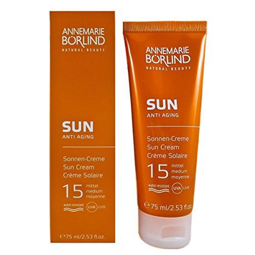 Annemarie Börlind Sun Anti Aging unisex, Cream SPF15, 1er Pack (1 x 75 ml)