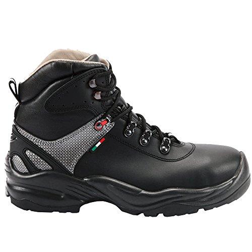 Giasco, Calzado De Seguridad Para Hombres Multicolor Negro-gris 41