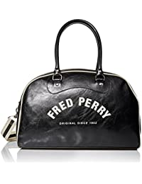 Fred Perry Vintage Homme Holdall Noir