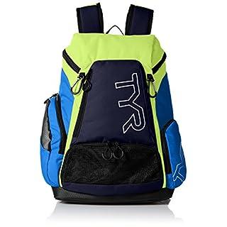 TYR Unisex's Alliance Backpack, Blue/Green, Medium/30 Litre