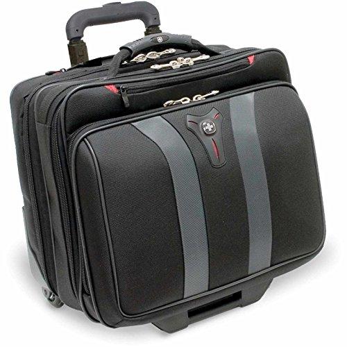 Wenger Granada 2-Rollen Laptoptrolley 42 cm 17 zoll, schwarz-grau