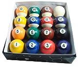 Gamesson - Palle da Biliardo per tavoli da 6-7', Colore: Multicolore