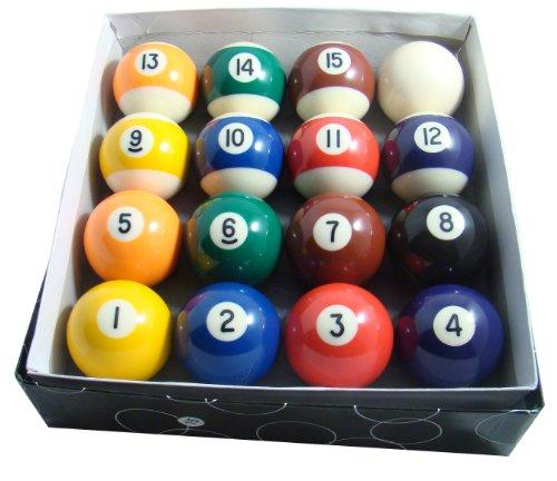 """Gamesson - Palle da biliardo per tavoli da 6-7"""", colore: usato  Spedito ovunque in Italia"""