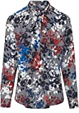 BASLER Damen Bluse Bluse mit Abnehmbarer Schluppe Knopf