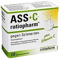 ASS + C-ratiopharm® Brausetabletten gegen Schmerzen preisvergleich bei billige-tabletten.eu