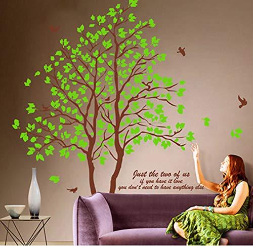 Wandaufkleber Zitronenbaum Wohnzimmer Schlafzimmer Warme Wandaufkleber Tv Hintergrund Wände Kinderzimmer Dekorationen Diy Hause Bäume Aufkleber