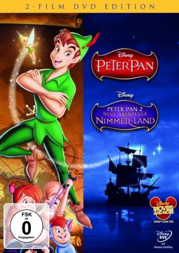 peter-pan-peter-pan-2-neue-abenteuer-in-nimmerland-2-dvds