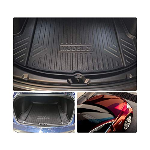 Tesla Model 3 Rubber Boot Liner Non-Slip Mat