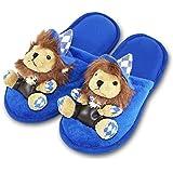 HC-Handel 912155 Plüsch Pantoffeln Bayrischer Löwe Gr.38-40 blau