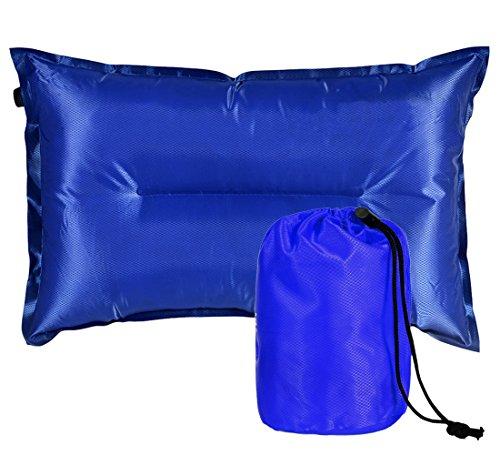 Aufblasbares Kissen Sitz Kissen Selbstaufblasbare Camping Luftmatratze 50 X 30CM