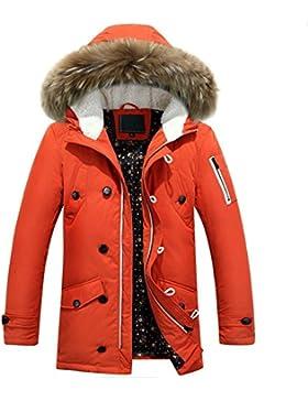 MHGAO abrigo de invierno chaqueta de negocio de los hombres al aire libre , orange , xl