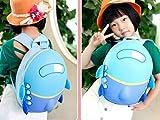 AREO Children Boys Girls Cute 3D Cartoon Airplane Hard Shells Schoolbag Shoulder Bag