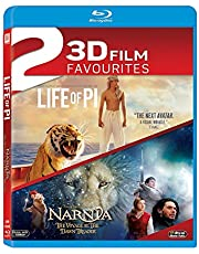 3D Movies Collection: Life of Pi + The Chronicles of Narnia: The Voyage of the Dawn Treader