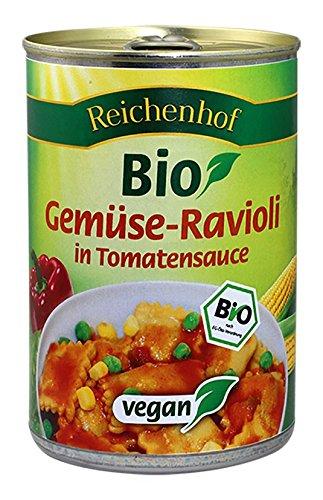 Reichenhof Gemüse-Ravioli in Tomatensauce vegan
