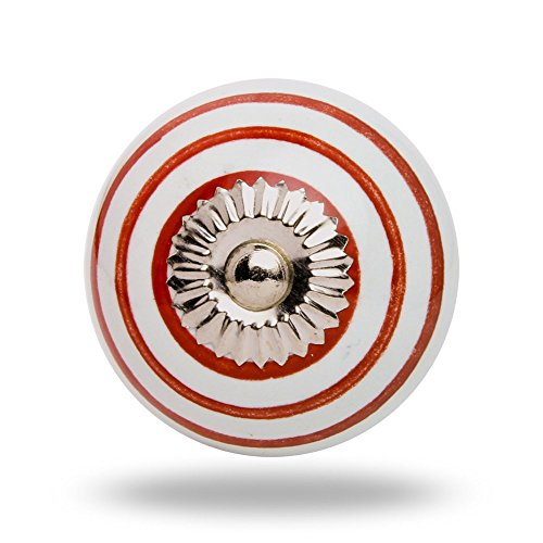 ceramic-round-knob-red-circles-on-white-chrome-finish-kitchen-cabinet-cupboard-door-knobs-home-decor