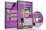 Virtuelle Spaziergänge - Lavendelfelder, Frankreich für Indoor Walking, Laufband und Radfahrtraining