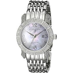 SWISS LEGEND 23024-WMOP - Reloj para mujeres, correa de acero inoxidable