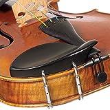 SG Musical 4/4 Violin Chinrest - Ebony with Standard Bracket