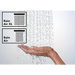 Hansgrohe 27380000 Raindance E 240 Air ducha de techo, cromo