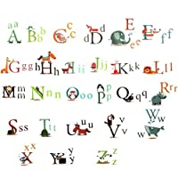RHX 26 Animal Alphabet Letters Removeable Wall Sticker Baby Kid Art Decal Room D¨¦cor