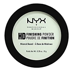Nyx Professional Makeup High Definition Finishing Powder, Mint Green, 8g