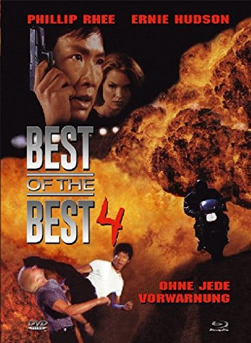 Best of the Best 4 - Ohne jede Vorwarnung - Uncut/Mediabook  (+ DVD) [Blu-ray] [Limited Collector's Edition]