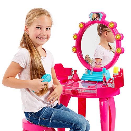 Theo Klein 5320 Barbie Schönheitsstudio Schminktisch In Pink Für