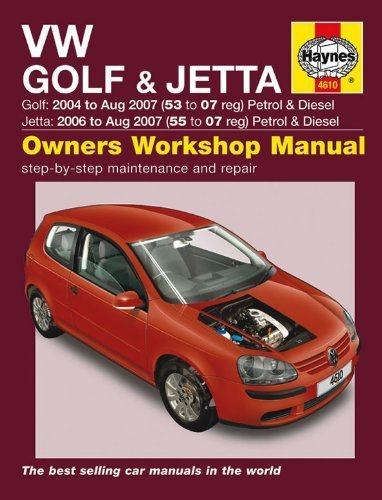 VW Golf & Jetta Service and Repair Manual: 2004-2009 (Haynes Service and Repair Manuals) by Legg, A. K. (2013) Hardcover