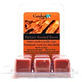 Candeo Candle Hickory Geräucherter Speck, Super Duft Soja Schmelzen Cubes, 2-Stück Verwendung in Tart Warmers, Tee Light Warmers, Öl Warmers Oder Scentsy Warmers.