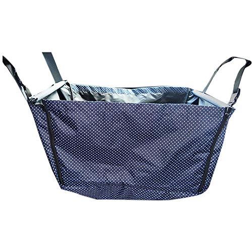 ZRZJBX Haustier-Auto-Matten-Schutz-Hintere Reihe Wasserdichtes Oxford-Gewebe, Einfach Zu Tragen Und Kann Gewaschen Werden,Blue -