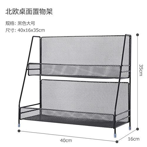 WMLD Eisen Regal,kosmetische Aufbewahrung,küche-Rack,Schreibtisch Double Schlafsaal Tabel