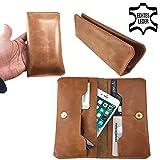 Leder Design Portemonnaie & Handy Schutzhülle für -