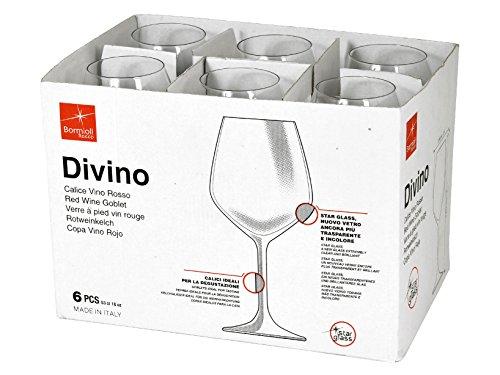 confronta il prezzo Rocco Bormioli Bicchieri Divino Cl 53 - confezione da 6 pz miglior prezzo