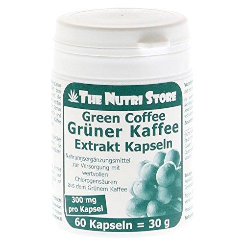GRÜNER KAFFEE Extrakt 300 mg Kapseln 60 St