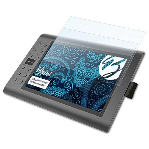 Bruni Schutzfolie für Gaomon M106K Folie, glasklare Displayschutzfolie (2X)