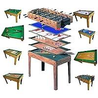 Mendler Tischfußball Billard Hockey 9in1 Multiplayer