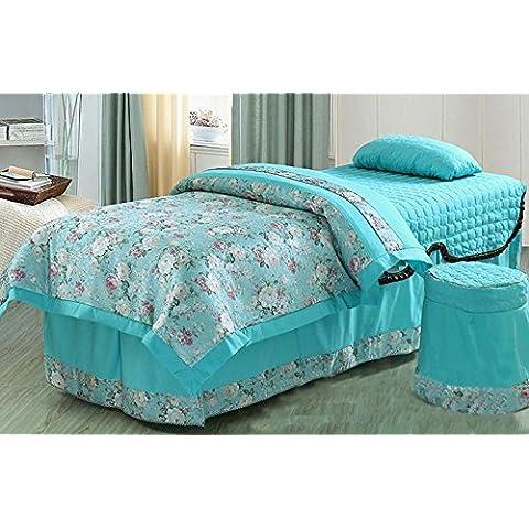 Beauty bedspread Cuatro set ropa de cama colcha/Spa belleza/masaje/fisioterapia la colcha de cama de belleza , 1 ,