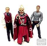 Dr Who - Figura de acción de 6 pulgadas de Aliens & Villes, juego de 3, nº 5 [no en caja]