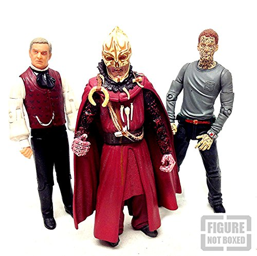 Dr Who Aliens & Villas Action-Figuren, 15 cm, 3 Stück - Mutanten Who Dr