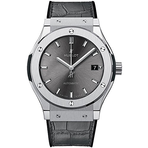Hublot classica da uomo Fusion Racing grigio titanio 45 mm Watch