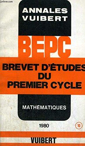 BEPC mathématiques par (Broché)