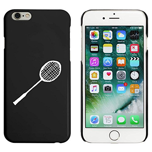 Azeeda Schwarz 'Badminton Schläger' Hülle für iPhone 6 u. 6s (MC00025209)