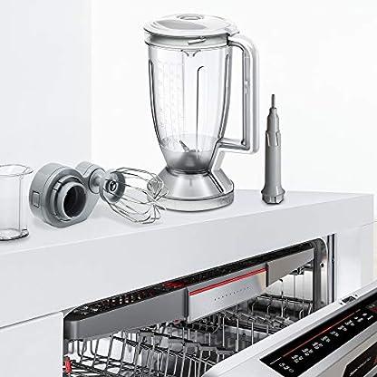 Bosch-MC812S814-MultiTalent-Kompakt-Kchenmaschine-1250-W-XXL-Rhrschssel-39-l-weiEdelstahl-gebrstet
